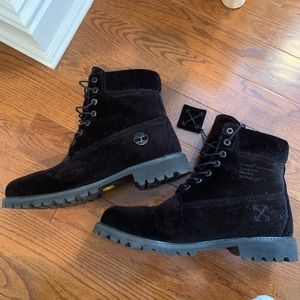 black off white timbs
